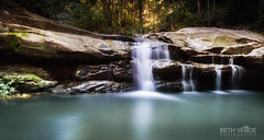 Tranquility and Peace (Beth Wode Photography) Tags: waterfalls dappledlight tranquility peace calm le sunshinecoast buderim queensland beth wode bethwode