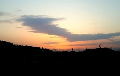 #tramonto #sunset #florence  #italy #italia #tuscany #red (gianlucaxx) Tags: florence red tramonto sunset tuscany italia italy