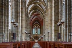 kneeling on sacred ground - Auf heiligem Boden (ralfkai41) Tags: kathedrale architektur sachsen meissen architecture cathedral church gebäude kirche saxony