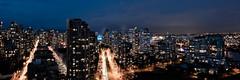 Blue Hour in Vancouver (trainerKEN.) Tags: gotham longexposure cityscape
