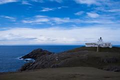 StrathyPointLighthouse (mianeko) Tags: lighthouse lighthousephotography landscape landscapephotography scottishlandscape scotland strathypoint sutherland bluesky sea scottishhighlands
