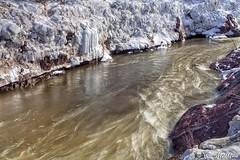 180419-44 Rivière Etchemin (clamato39) Tags: rivièreetchemin river rivière canyon neige snow water eau rapides rocher roches rock poselongue longexposure provincedequébec québec canada