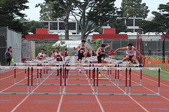 IMG_8291 (susanw210) Tags: track running trackandfield teamwork atheletes students highschool team jumping hurdles lowell cardinals highschoolsports