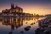evening at the Albrechtsburg (mad_airbrush) Tags: 5d 5dmarkiii 2470mm 2470mmf28lusm ev ab abendsonne sundown landscape langzeitbelichtung landschaft filter nd ndfilter longexposure purple castle castlespalacesmanorhousesstatelyhomescottages albrechtsburg meissen saxony sachsen germany deutschland elbe fluss river blue bluehoure blauestunde