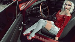 Car Trouble (inkie Loudwater) Tags: glamaffair fameshed eudora3d collabor88