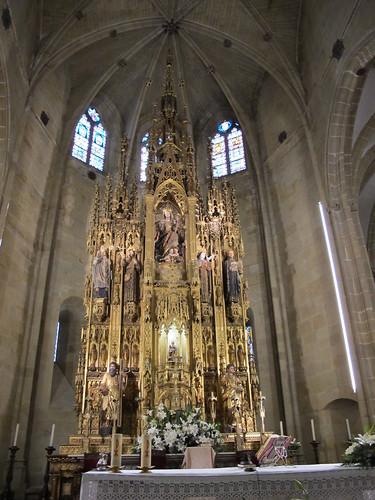 Iglesia parroquial - Capilla mayor 2