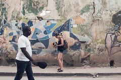 Hasselblad Cuba (Juha Helosuo) Tags: oldhavana havana ciudaddelahabana canon eos 7d mark ii ef24105mm f4l is usm street photography people hasselblad photographer girl walking cuba habana travel traveling art graffiti