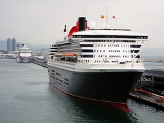 Queen Mary 2 (Mira Car) Tags: qm2 cunard cruiseship transatlantico oceanliner porto sea travel viaggio crociera nave crucero foto photo pru spagna protagonisti del mare 2018