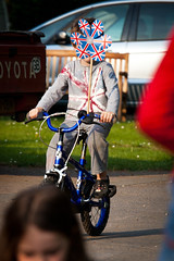 Royal Whee (Alistair Peck) Tags: royalwedding royal wedding britain uk greatbritain union jack flag unionflag unionjack cycling bike