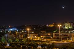 Cresent (ammar.jibarah) Tags: moon city jordan amman cresent landscape nikon d3400