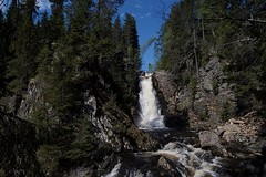 Wilderness. (janrs7) Tags: norge norwegianlandscape nordicnature norway spring may waterfall kydalsfossen afsnikkor1855mmf3556 wilderness wildnature