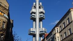 Žižkov TV Tower, Prague, Czech Republic (David McKelvey) Tags: 2018 europe czech republic prague žižkov