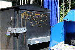 4Syfe (Alex Ellison) Tags: 4syfe tag southlondon urban graffiti graff boobs
