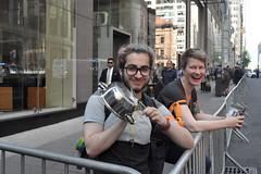 pan (greenelent) Tags: notrump protest demonstration riseandresist streets people activists nyc newyork