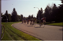 [1982] National Road Cycling Championships Edmonton 003 (wwhhiiisskkas) Tags: 1982 canada canadian national road cycling championships edmonton alberta hawrelak park emily murphy hill saskatchewan drive