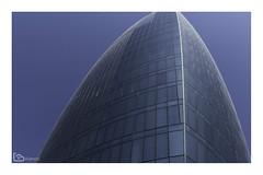 Flame Towers, Baku, Azerbaijan, 2018 (alamond) Tags: flame flametowers baku azerbaijan architecture glass windows facade blue hotel canon 7d markii mkii llens ef 1740 f4 l usm alamond brane zalar building sky skyscraper