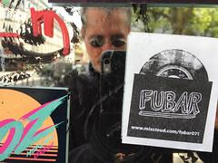 DRS: FUBAR (david ross smith) Tags: paris france graffiti art ad poster sign signage 11tharr 11tharrondissement text