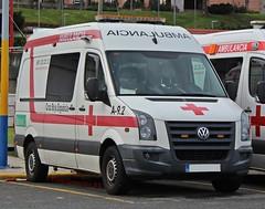 Cruz Roja A Coruña (emergenciases) Tags: emergencias españa 112 acoruña galicia vehículo cruzroja ambulancia svb soportevitalbásico volkswagen crafter