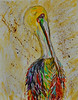Mom's Pelican (BKHagar *Kim*) Tags: bkhagar pelican painting paint acrylic canvas bird neworleans art artwork artday moms