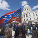Confederate flag imagery at Republican gun rights rally