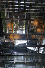 2018-04-FL-183478 (acme london) Tags: aluminiumreflectors barcelona fira hotel interior jeannouvel lobby renaissancehotelfira skylight spain suspendedceiling