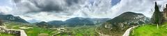 """Valle de la Alta Garrotxa"" (atempviatja) Tags: altagarrotxa valle norte cataluña pueblos naturaleza paisaje verde montañas nubes cielo"