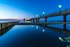 Blue Hour after Sunset - Zingst, Mecklenburg-Vorpommern (dejott1708) Tags: blue hour long exposure pier zingst mecklenburgvorpommern diving gondola