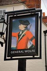 Pub sign for The General Wolfe, Westerham. (Peter Anthony Gorman) Tags: pubsigns generalwolfe kentpubs westerham soldier