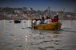 The Ganges During The Evening, Varanasi