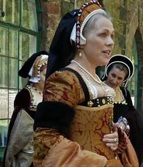 Henry VIII and his six wives (jacquemart) Tags: berkleycastle gloucestershire henryviii historicalreenactment tudor court heritage history