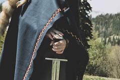 DSC_0069 (Hilðr) Tags: vikings vikingsfan north norse mountains scandinavian costume shieldmaiden outfit cosplay nature wardruna mountain lake forest norsesoul norseinspiration norsespirit nordic sword skjoldehamn