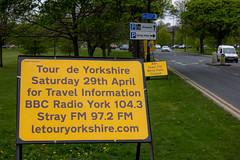 Advance warning (barronr) Tags: england harrogate landscape rkabworks sign stray yorkshire bathgatephotographer