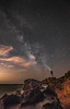 Milky Way! Malibu California Beach Sea Cave Arch Milkyway! Epic Malibu Long Exposure Starry Night Fine Art Landscape Seascape HDR Photography! Elliot McGucken Fine Art! Sony A7RII & Sharp Carl Zeiss Sony Vario-Tessar T* FE 16-35mm f/4 ZA OSS Lens SEL1635Z (45SURF Hero's Odyssey Mythology Landscapes & Godde) Tags: milky way malibu california beach sea cave milkyway epic long exposure starry night fine art landscape seascape hdr photography elliot mcgucken sony a7r ii sharp carl zeiss variotessar t fe 1635mm f4 za oss lens sel1635z arch a7rii