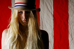 The Girl in the Circus (Studio d'Xavier) Tags: werehere stripes|||group stripes circus portrait