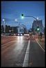 Gartenstraße (Krueger_Martin) Tags: strase street gartenstrase brunnenstrase berlin blua blau blue blauestunde light lights bluehour licht hdr photomatix weitwinkel wideangle canoneos5dmarkii canoneos5dmark2 canonef1635mmf4lis city stadt urban bunt colorful farbig car cars auto autos traffic verkehr