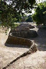 """Stone River,"" Sandstone sculpture by Andy Galsworthy (ali eminov) Tags: paloalto california universities stanforduniversity sculptors andygalsworthy sculptures stoneriver"