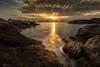 Tramonto Tellaro (Pasquale D'Anna) Tags: tramonto tellaro top paesaggio landscape nature roccia mare sea water nuvole italy italia photo photography canon canon6d longexposure sunset travel