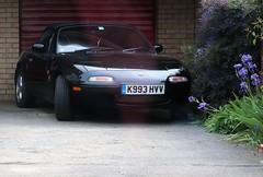 K993 HVV (Nivek.Old.Gold) Tags: 1993 eunos roadster 1598cc mazda mx5