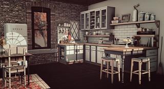 Loft Apartment - Kitchen