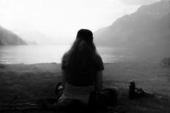 peaceful (pat.netwalk) Tags: peaceful monochrome bildgutch copyrightpatrickfrank brienz yoga light darknessandlight dusty