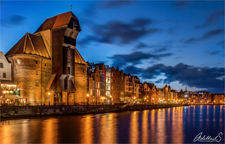 Gdansk evening blues