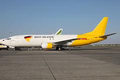 G-JMCR 08052018 (Tristar1011) Tags: ebbr bru brusselsairport westatlantic dhl boeing 737400sf b734 gjmcr freighter cargo