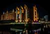 Maritimes Museum (VintageLensLover) Tags: hamburg speicherstadt maritimesmuseum nachtaufnahme farben sonya7ii fe1635mmf4 flickrmeeting nightshot museum gebäude nacht