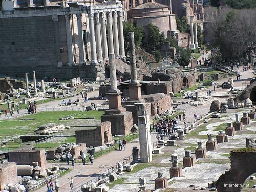 Римський форум, Рим, Італія InterNetri Italy 395
