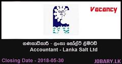 Accountant – Lanka Salt Ltd (Jobary.LK) Tags: government jobs all govt job search vacancies application websites