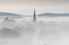 St Bartholomew's Church (JamesPicture) Tags: mist peakdistrict butterton staffordshire church spire bartholomews st saint
