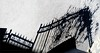 Surmountable - Superable (Konny :-))) Tags: fence gitter zaun portal recinto schatten shadow cercado ombra ombre aidattu omheind inngjerdet