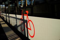 18026154 (felipe bosolito) Tags: bike train shadow rail station wesel red sun fuji velvia xf23f14 xpro2
