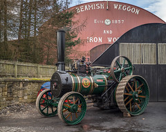 Beamish 2018 (Ben Matthews1992) Tags: beamish museum 2018 war steam fair great show rally old vintage historic preserved preservation vehicke transport haulage county durham england britain british wallis steevens mayrnagh bs8161 1883 victorian traction engine agricultural general purpose