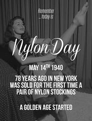 NylonDay_MAY14_2018 (nylongrrl) Tags: nylon nylons may 14 2018 vintage stockings nylonday nylonday2018